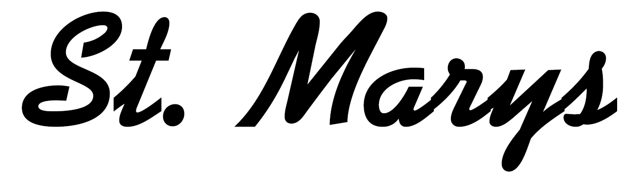 A theme logo of St. Marys Galaxy